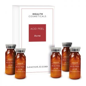 Chemisches Fruchtsäurepeeling gegen Akne und unreine Haut
